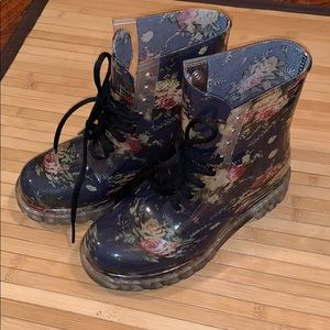 Dr. Martens style rain boots